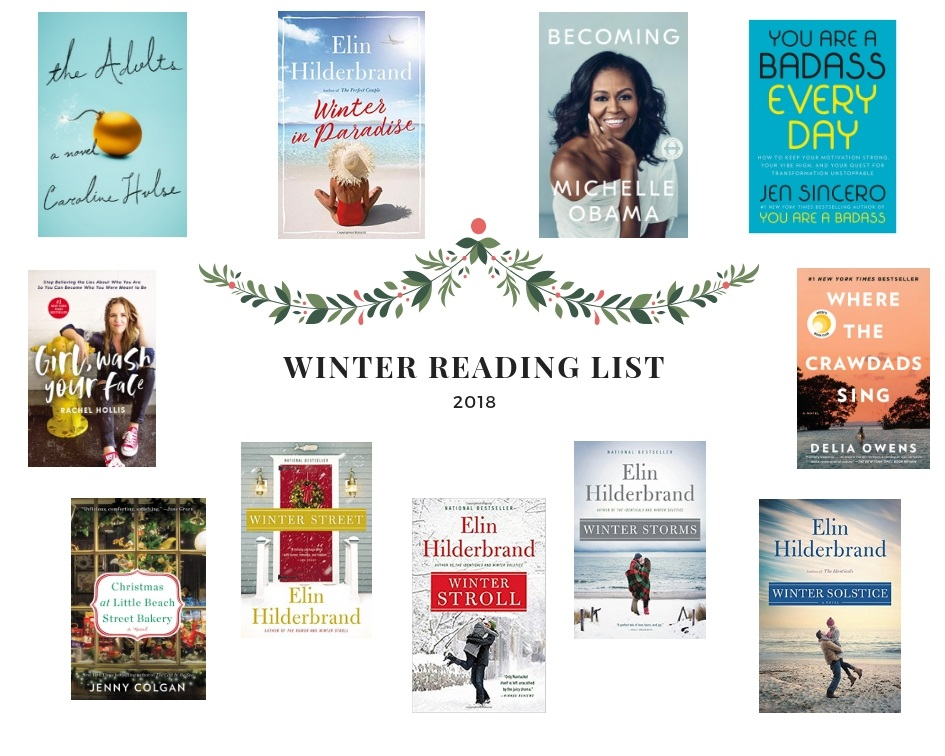 Winter Reading List 2018