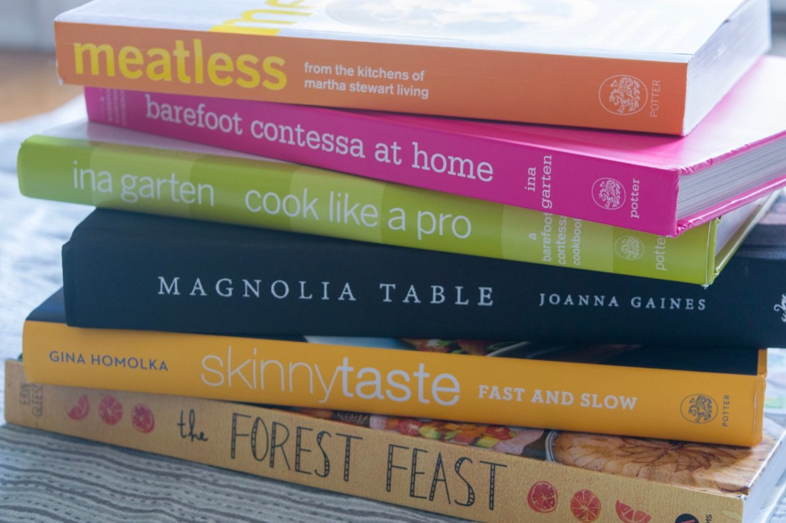 Cookbooks for Meal Prep
