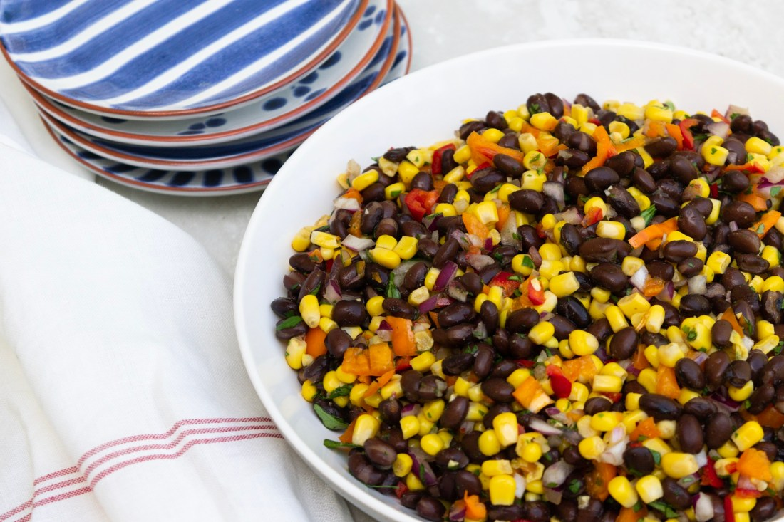 Cowboy Caviar Corn Salad