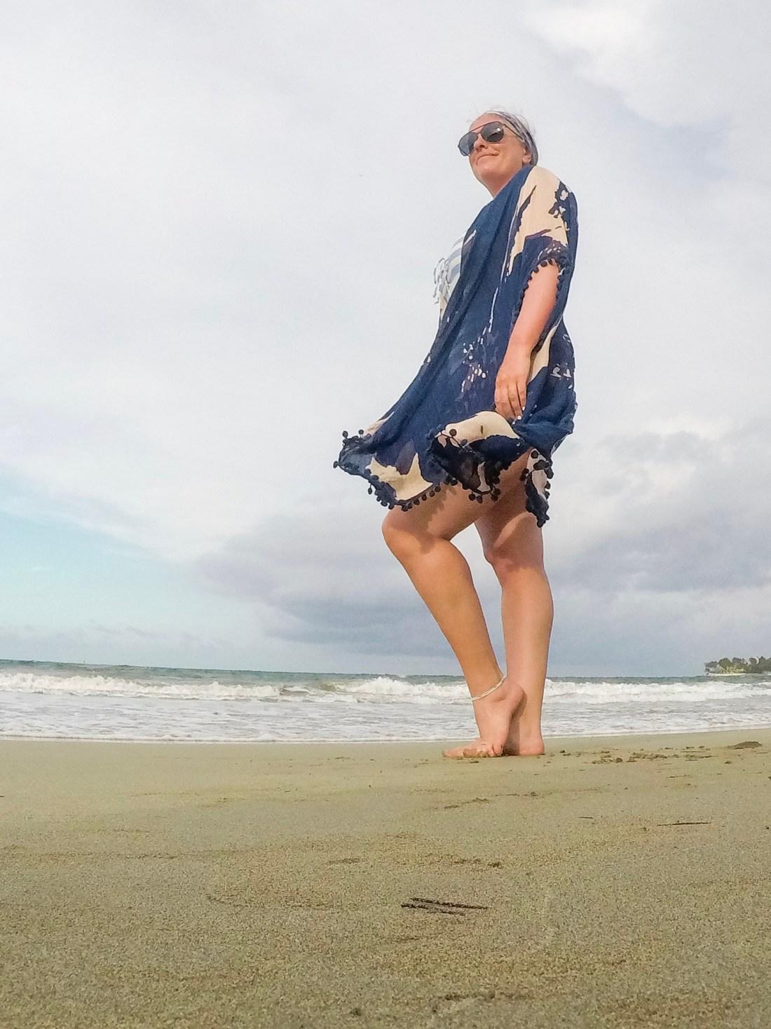 Blue and Blush Kimono