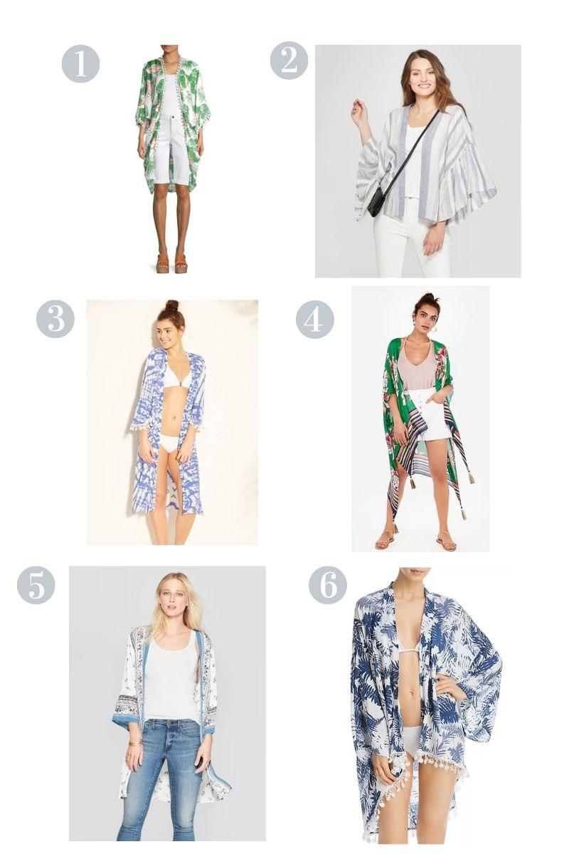 Summer Kimono Options