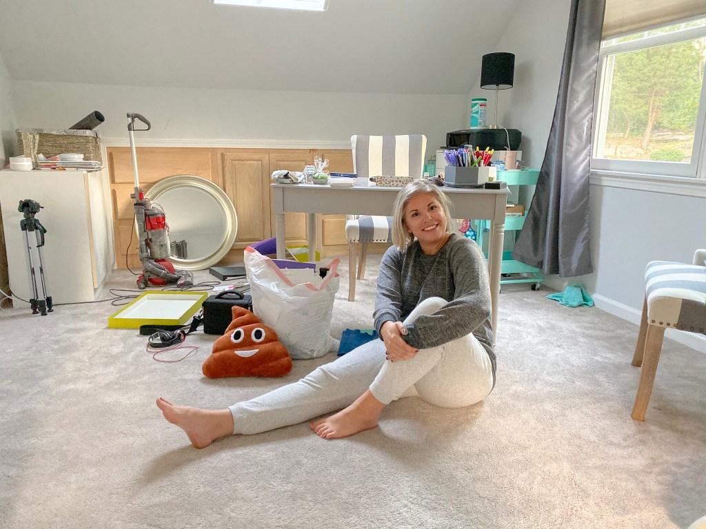 Decluttering our junk room