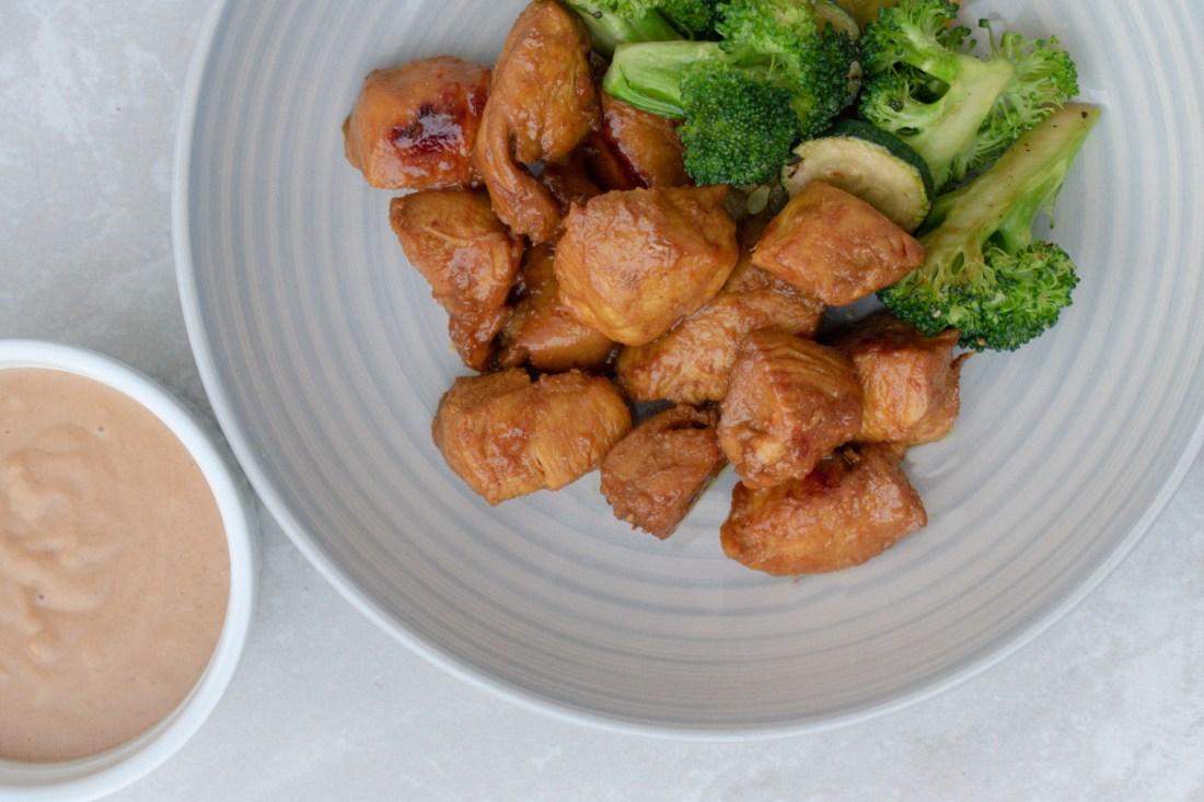Chicken Satay & Peanut Sauce