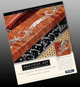 graphic design for magazine advertisement