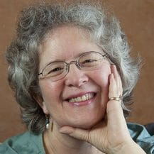 Portrait of Prescott designer and photographer Cynthe Brush, Grey Visual Design