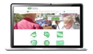 website design for 4h foundation