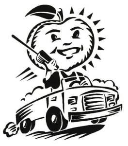 Cellular Logo for Georgia Peach Promo