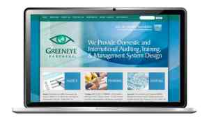 website design for technology recycling company