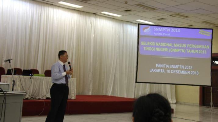 Prof. Dr. Ir. Budi Prasetyo Wb - Sosialisasi SNMPTN 2013