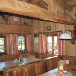 Auch innen ist die Hütte sehr gemütlich