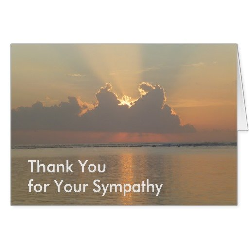 Easy Funeral Thank You Notes Written From The Heart