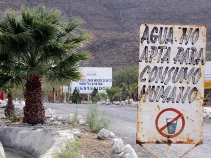 El gobierno de Durango les prometió que si dejaban seguir operando a la mina, resolverían el conflicto. Foto: Prometeo Lucero, Red TDT.
