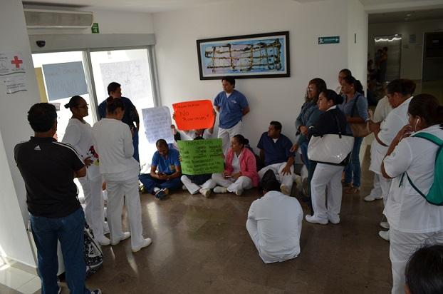 protesta hospital general playa del carmen (2)