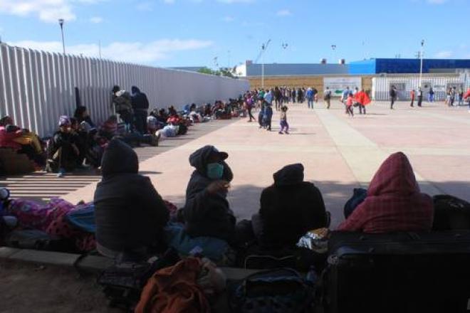 Desplazados por la violencia en Guerrero y Michoacán, a la intemperie en Tijuana