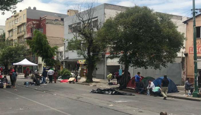 Tras levantar plantón en CDMX, maestros de la CNTE alistan regreso a sus entidades y concluyen paro laboral
