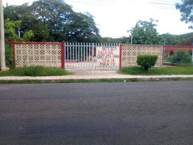 Amenazan con cerrar escuela rural (Campeche)