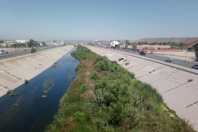 Por falta de presupuesto, pospondrán limpia del canal Río Tijuana: Conagua (Baja California)