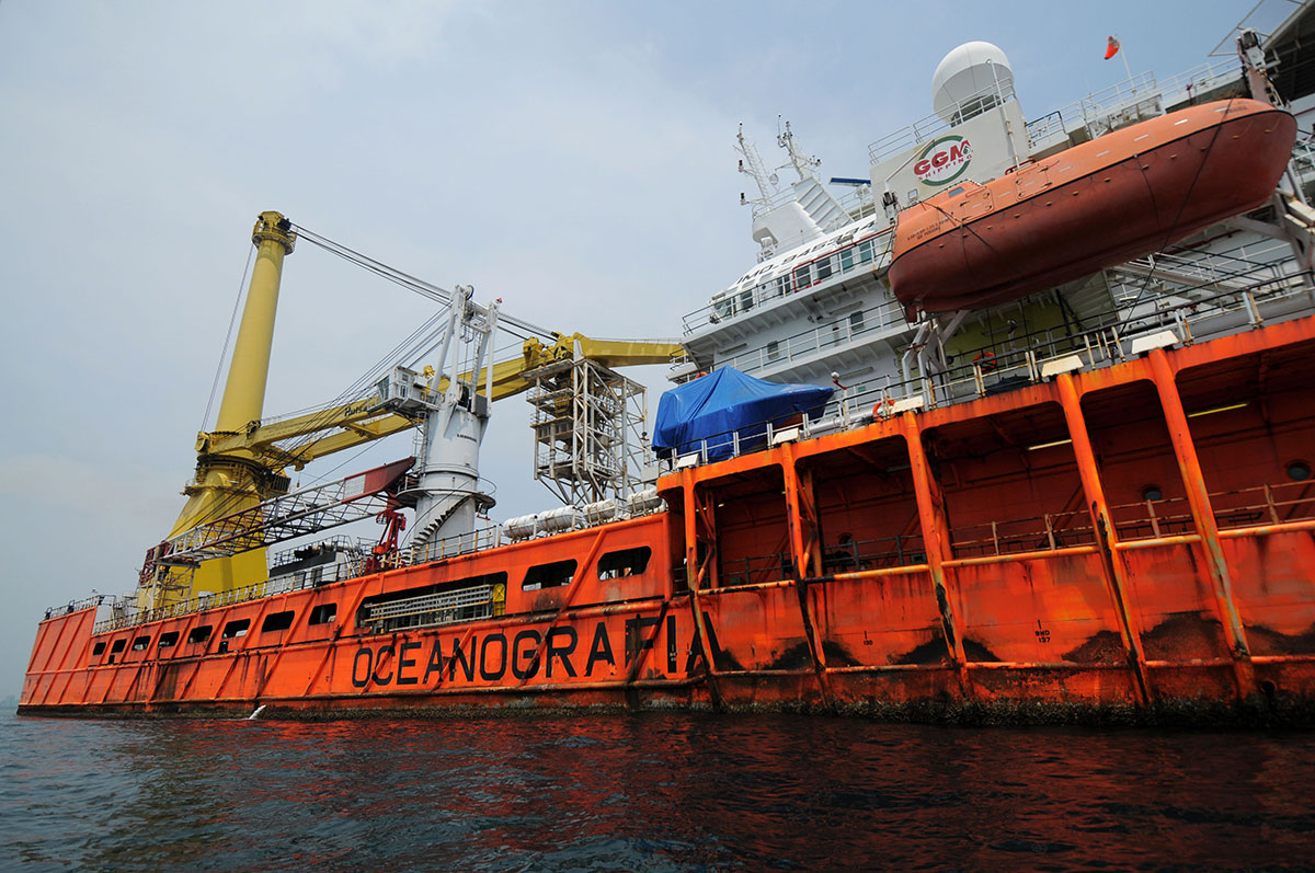 """Extrabajadores de Oceanografía denuncian ante la OIT a Peña, naviera y sindicatos """"charros"""""""