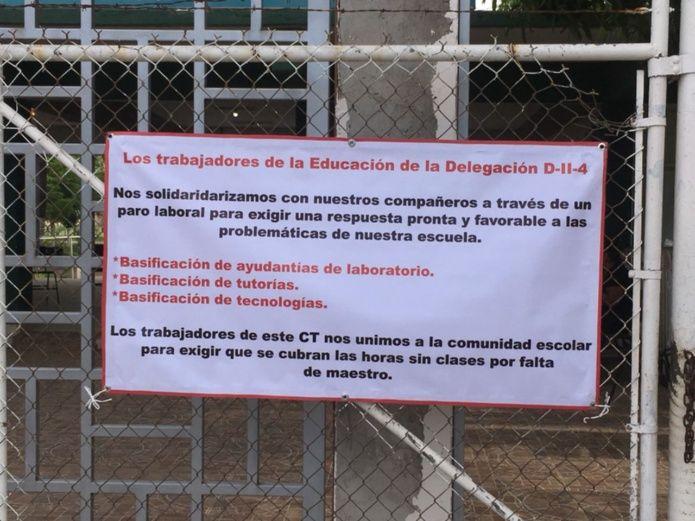 Toman 7 escuelas federales de la sección 27 en Ahome (Sinaloa)