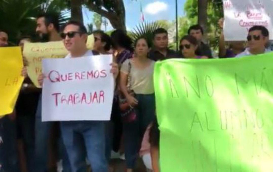 Maestros de Yucatán acusan corrupción y nepotismo en asignación de plazas de secundarias