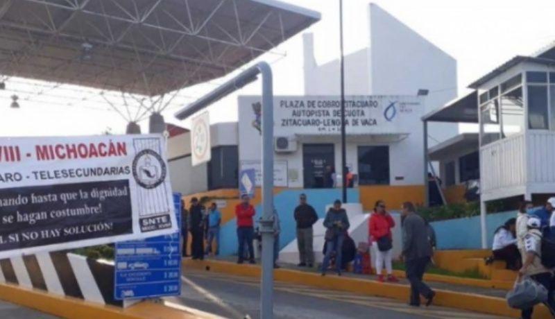 Exige CNTE de Michoacán pago de bono por 500 mdp