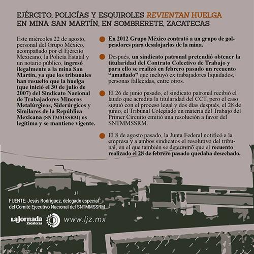 """Lo sucedido en San Martín """"es una farsa"""" sin validez legal: Óscar Alzaga (Zacatecas)"""