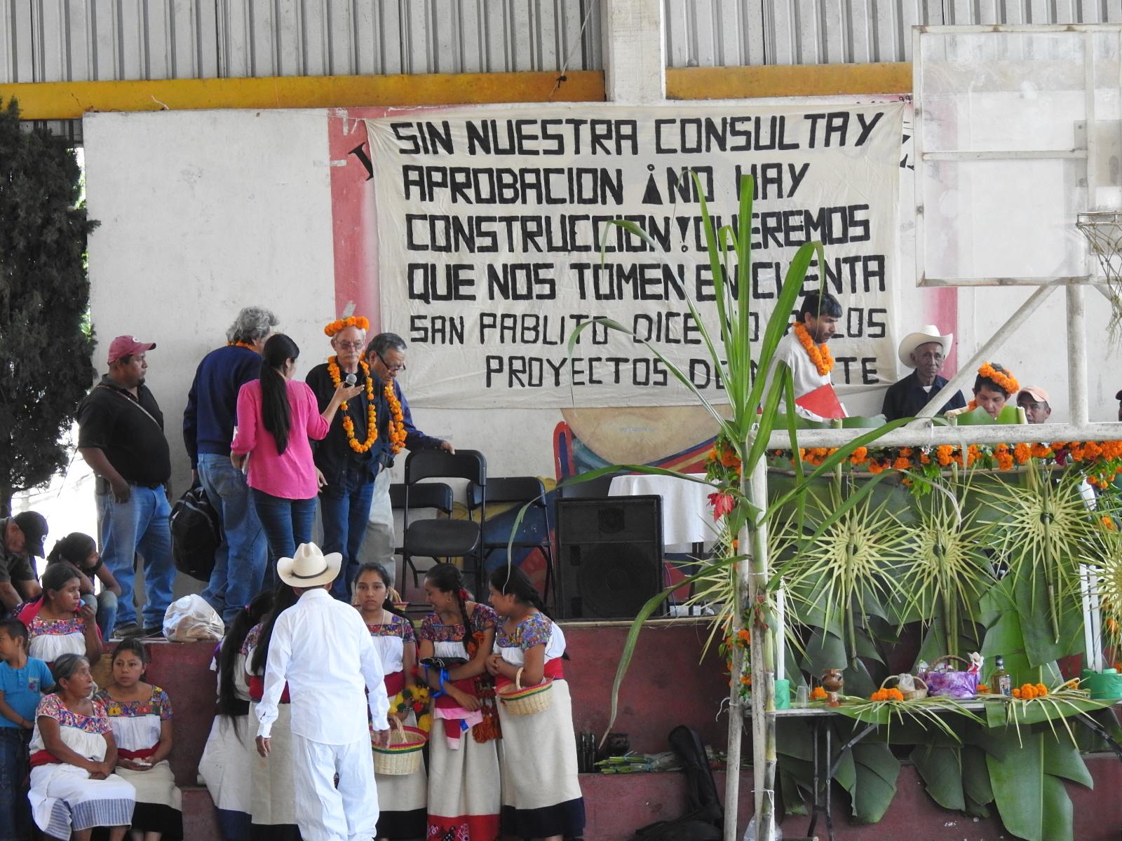 Se libra Sierra Norte de TransCanada, suspende gasoducto (Puebla)