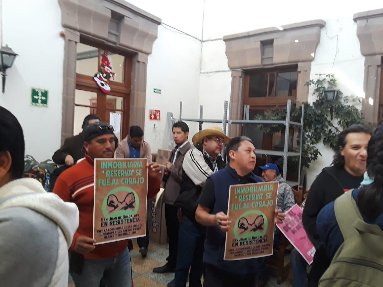 Comuneros advierten que resistirán a la apropiación ilegal de sus tierras; denuncian intereses de Gobierno del Estado (San Luis Potosí)
