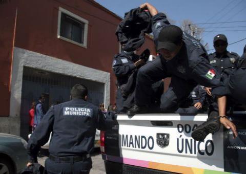 Policías de Tránsito también van a Guardia Nacional en Morelos