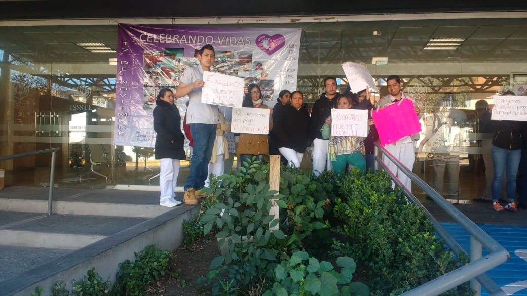 Paran labores en el ISSSTE (Zacatecas)