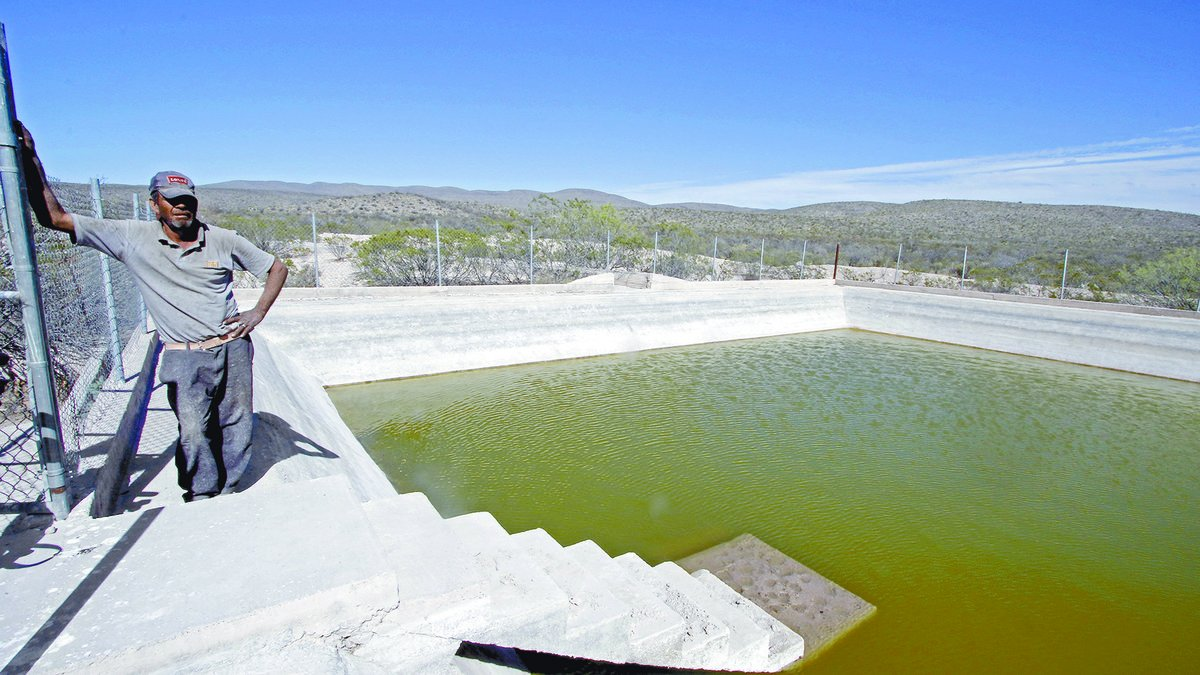 ¡Auxilio! ¡Estamos muriendo de sed! (Coahuila)