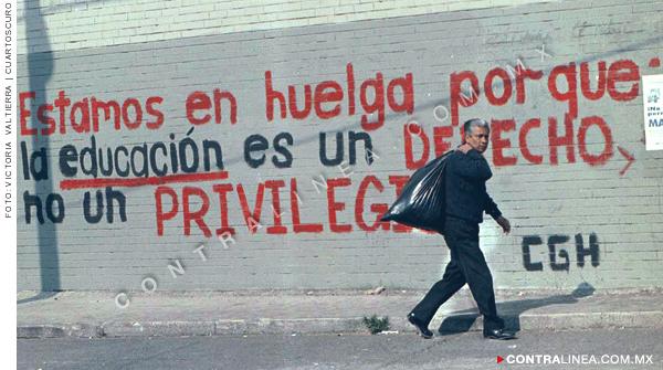 CGH: 20 años de la huelga que salvo a la UNAM