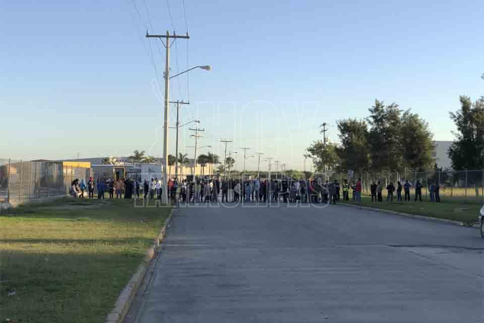 Bloquean accesos a Avances Científicos en Matamoros; luego se retiran (Tamaulipas)