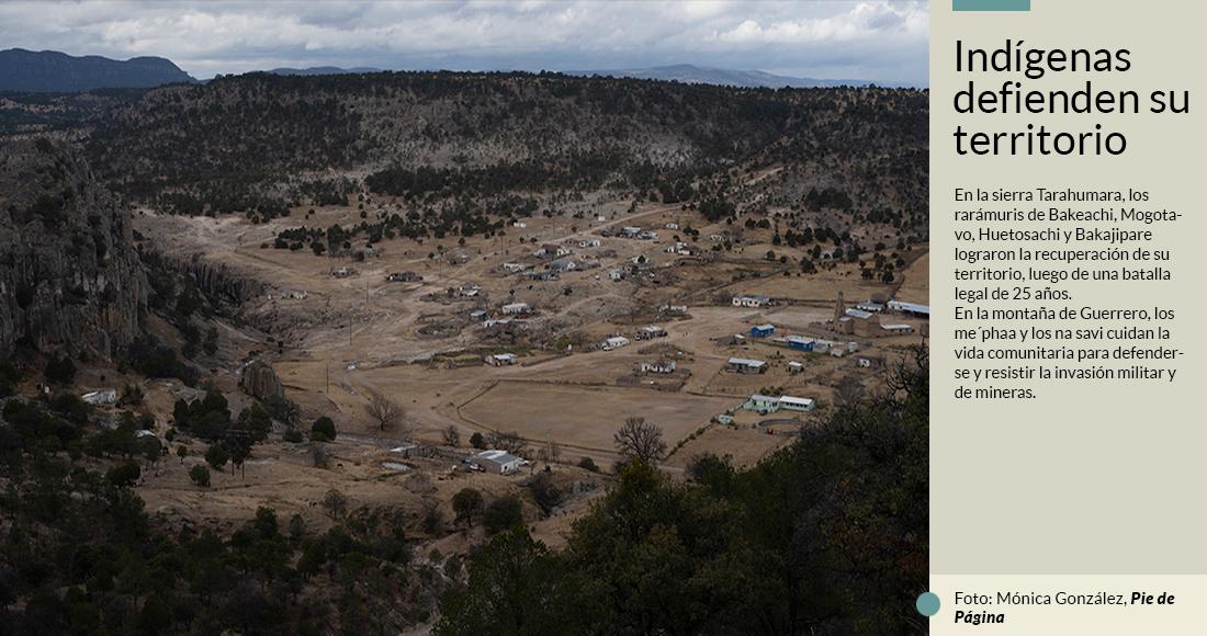 Indígenas criminalizados por el Gobierno luchan en Chihuahua y Guerrero contra mega empresas