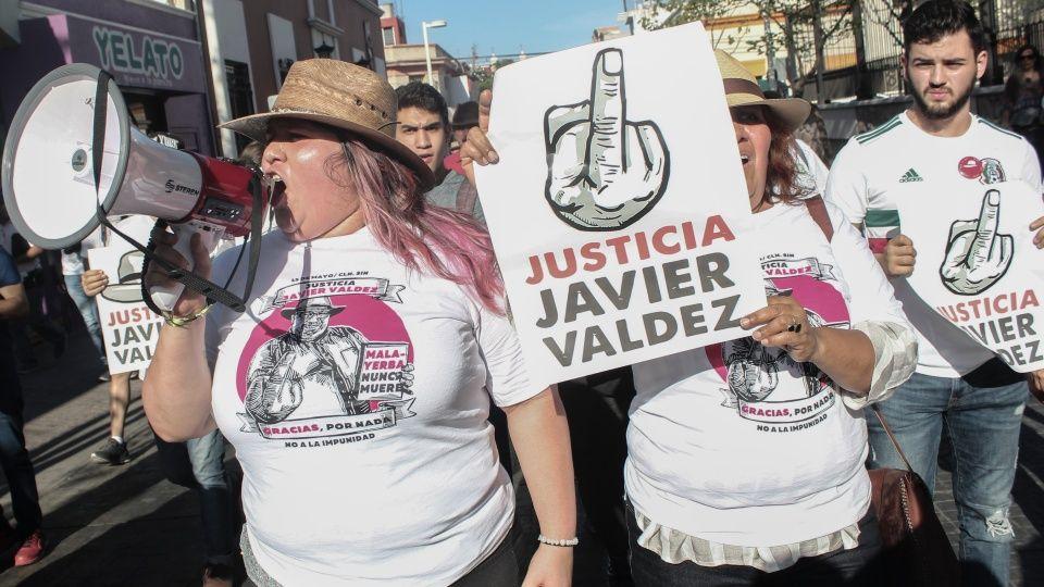 Claman justicia para Javier Valdez, a dos años de su muerte (Sinaloa)