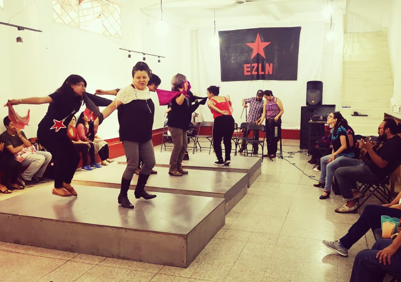 Guerrero no está solo: colectivos y bailarines solidarios en apoyo al CIPOG-EZ muestran que danzando también resistimos