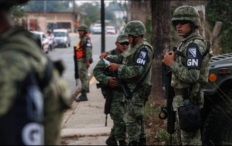 Arribarán 3 mil 600 agentes de la Guardia Nacional en Jalisco