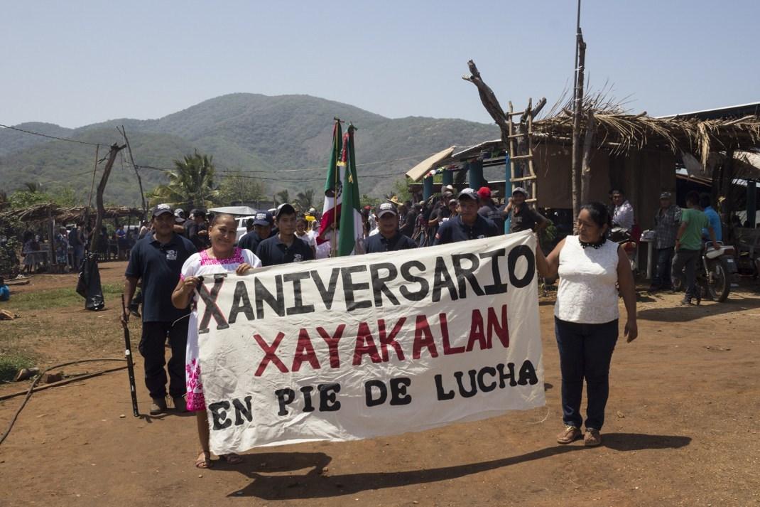 Xayakalan, 10 años tejiendo resistencia comunitaria (Michoacán)