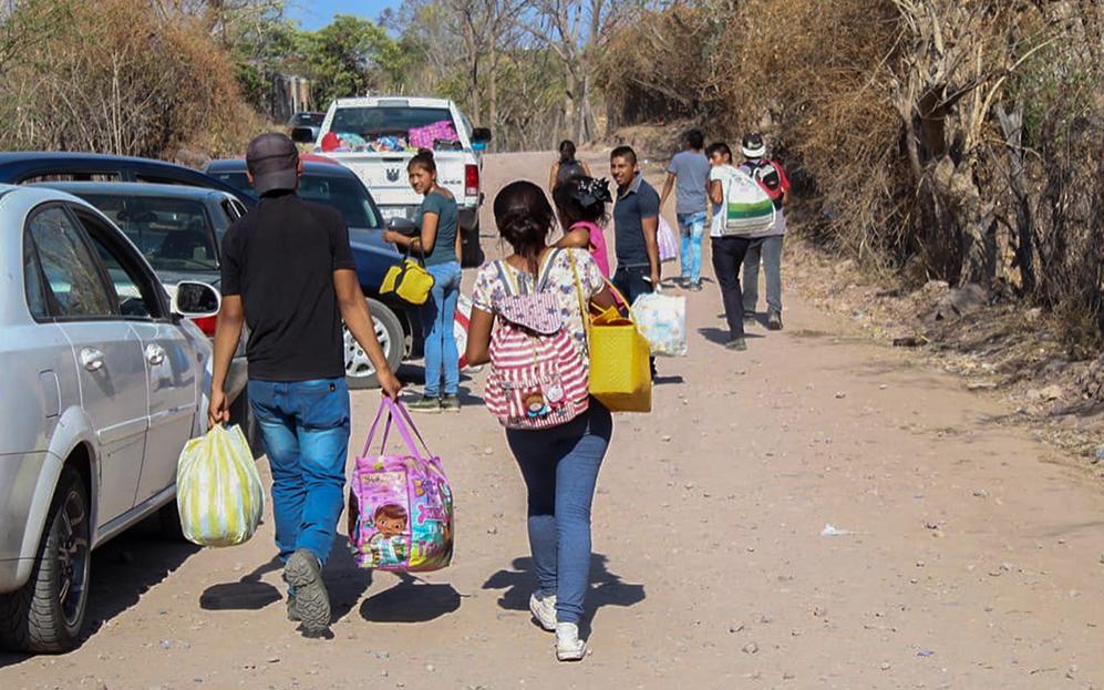 En la sierra de Guerrero, nuevo desplazamiento por violencia