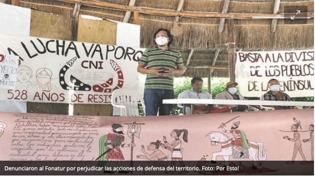 Organizaciones indígenas en Campeche acusan que el Tren Maya violenta derechos humanos