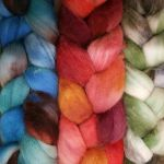 dyed-roving