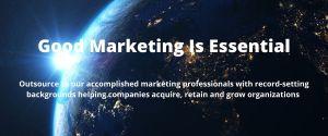 Good marketing is essential