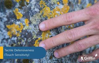 touch sensitivity stone and hand