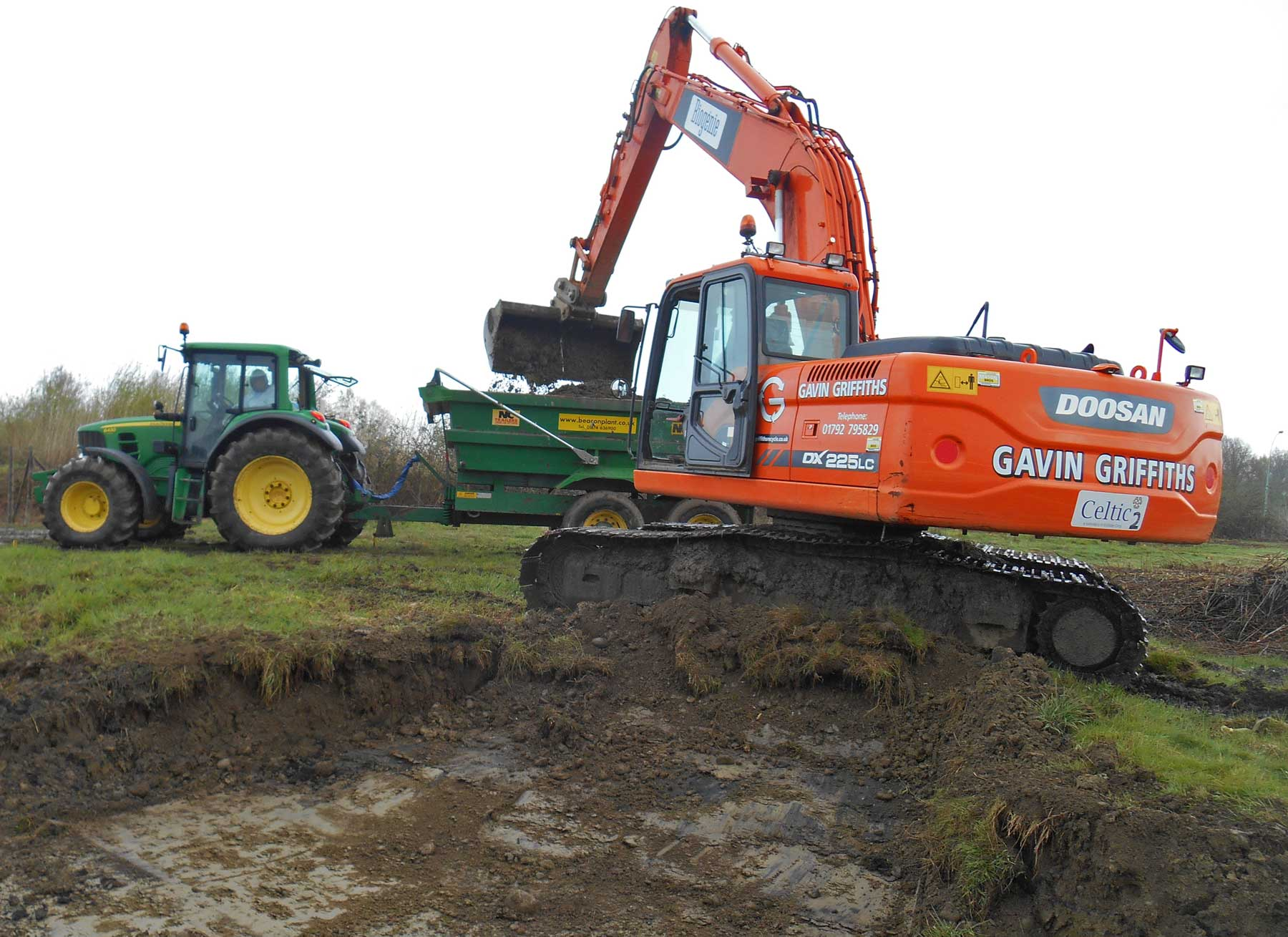 Gavin Griffiths Land Excavator
