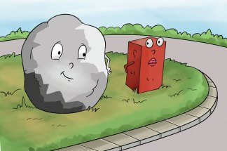 hindi story for kids learning from a stone
