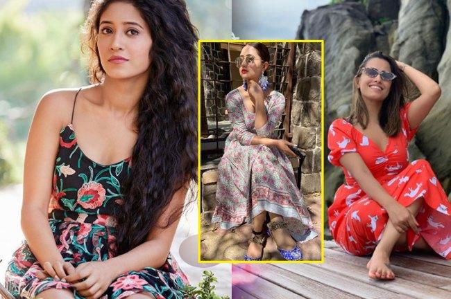 tv-actress-printed-dress