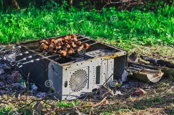 Barbecue Boitier PC