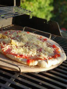 Pizzastein Test Gasgrill