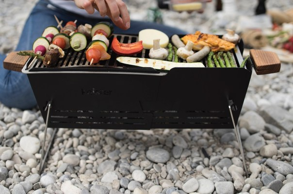 Knister Grill am Isar Strand