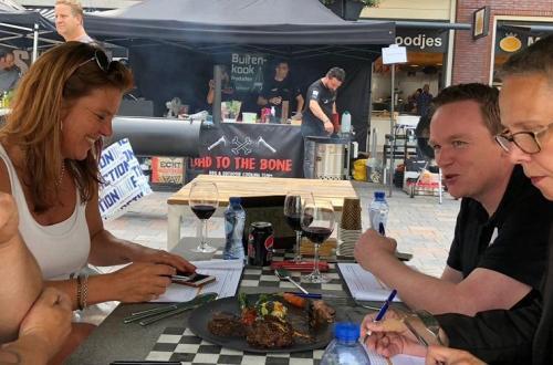 BBQ wedstrijd Waddinxveen